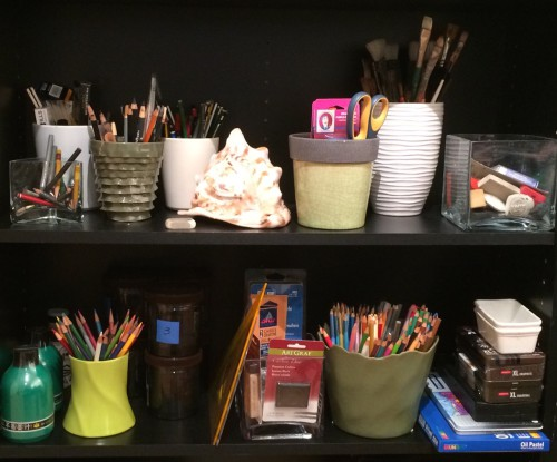 Studio shelving