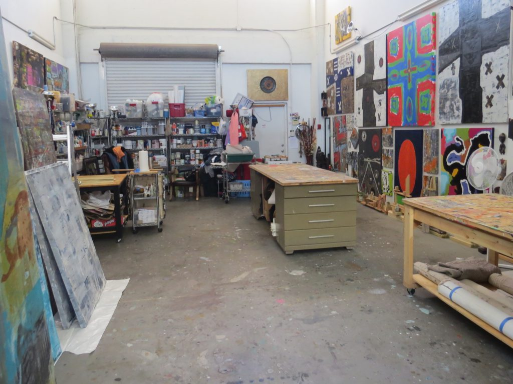 view of studio
