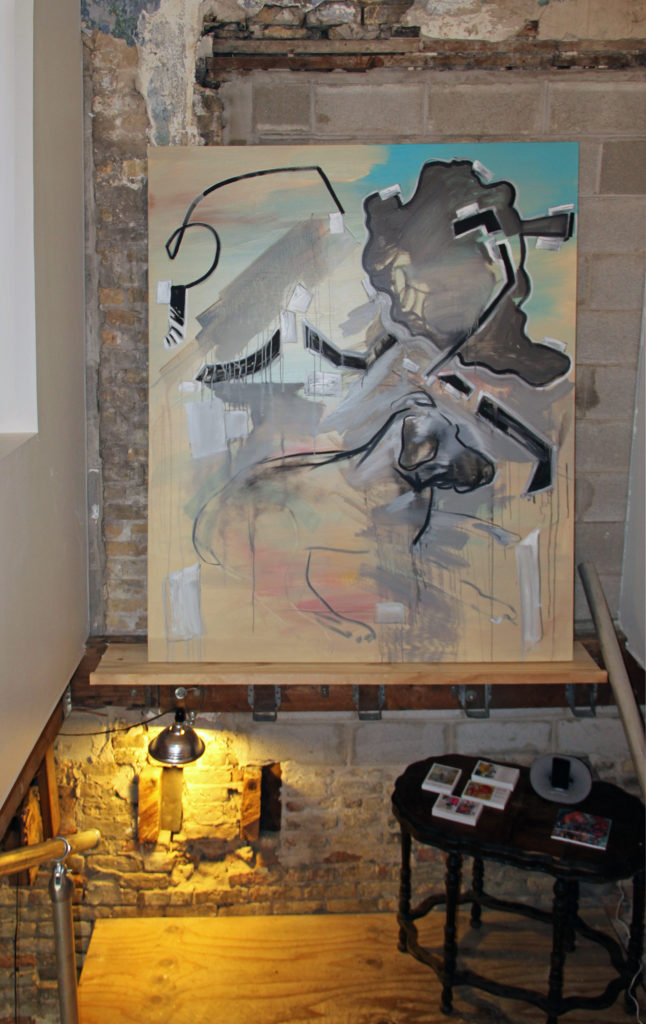 Studio-stairwell